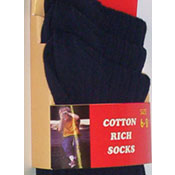 Trimfit Cotton Rich Socks