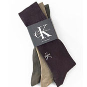 Calvin Klein Socks Calvin Klein Logo Rib Dress Sock