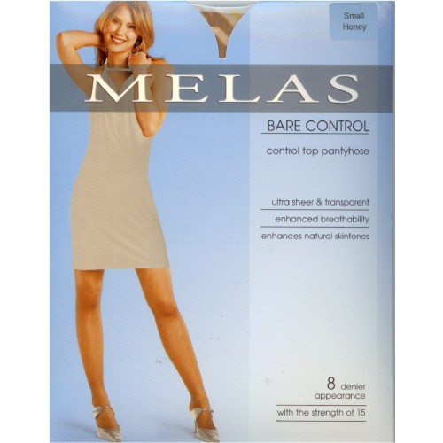Melas Bare  Control Top Pantyhose 3 pack