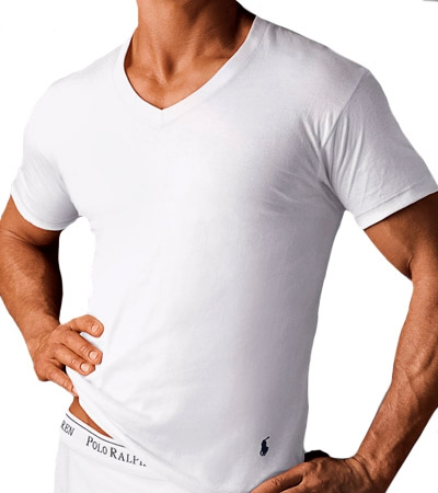 Polo Ralph Lauren V-Neck T-Shirts 3-pack